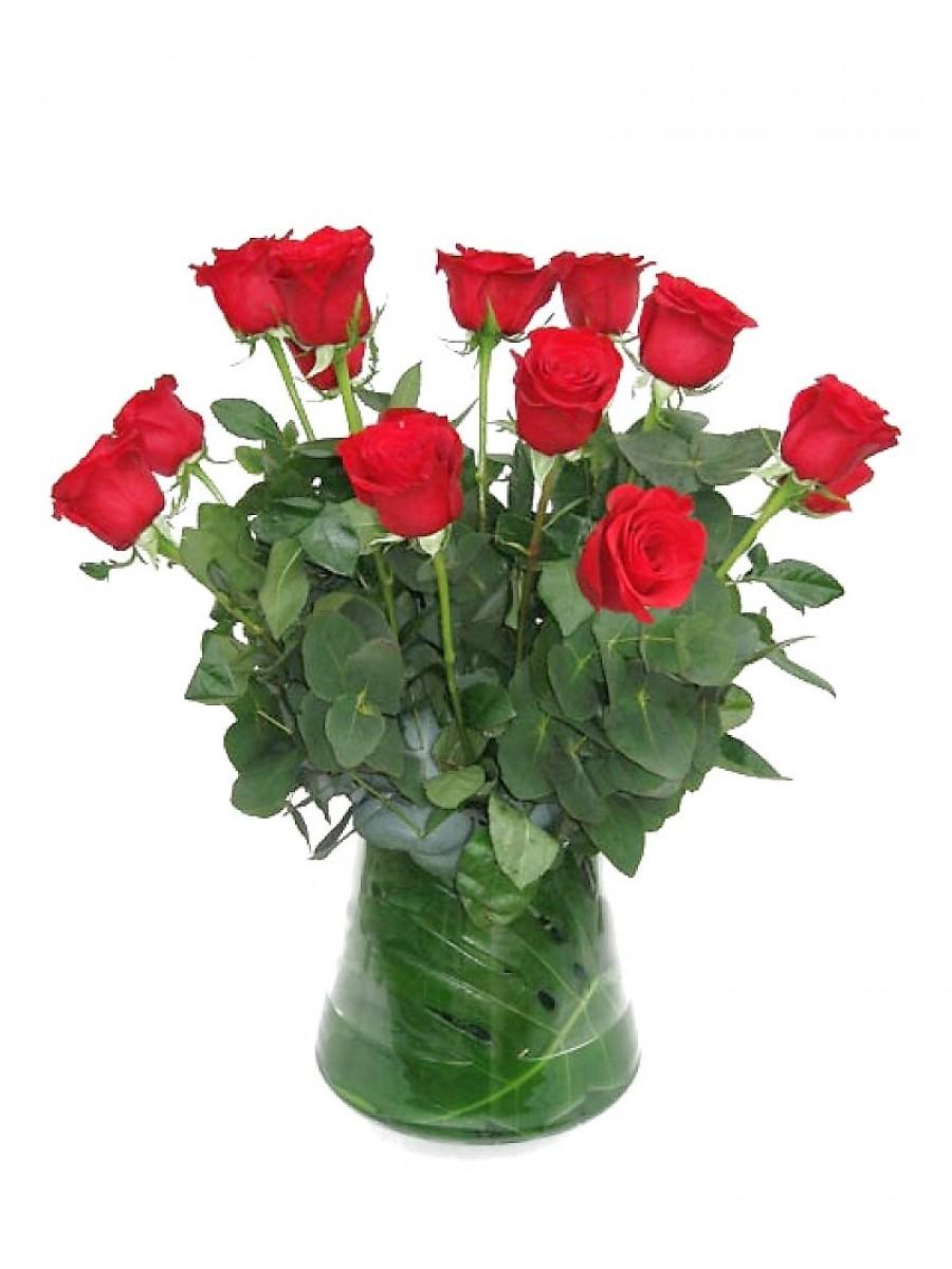 Ramo de rosas con relleno