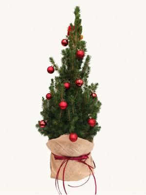 Árbol de navidad decorado 60cm