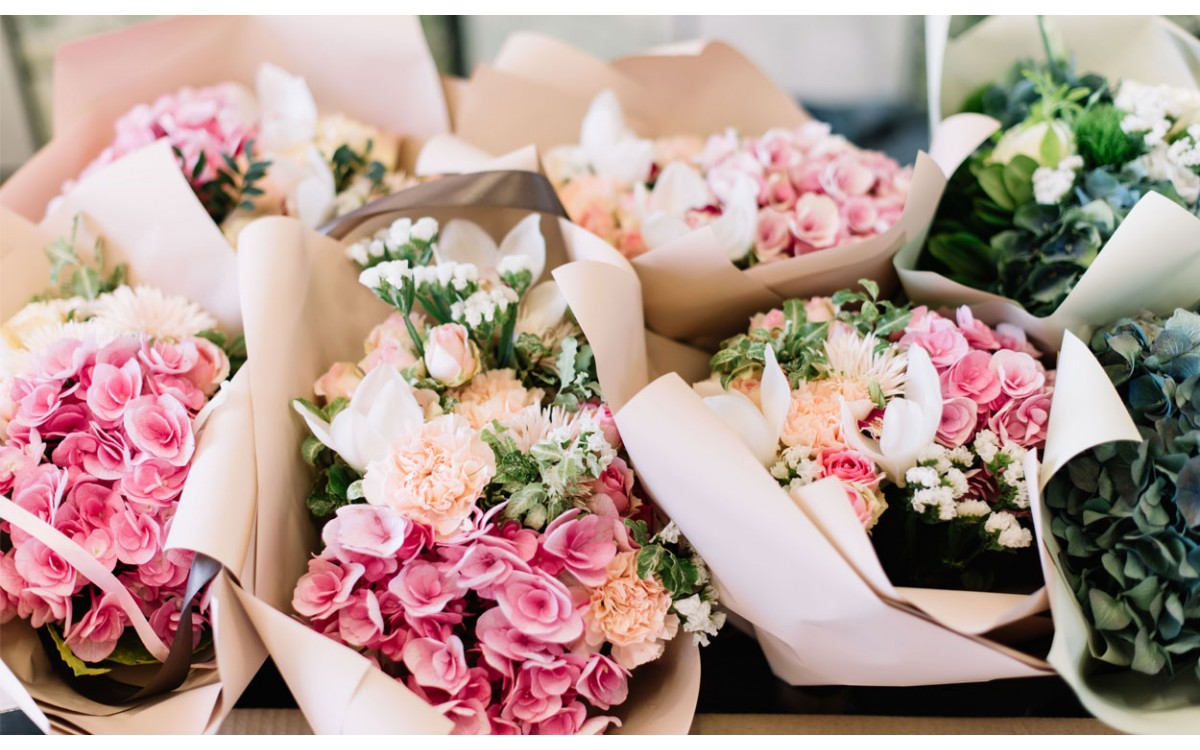 Los ramos de flores son el toque de distinción para toda celebración