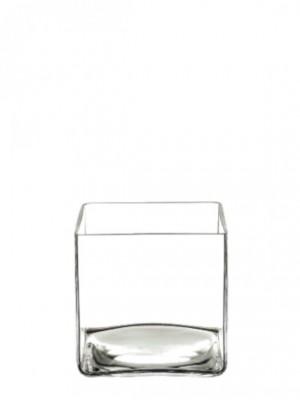 Macetero de cristal 10*10*10